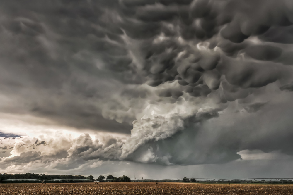 Supercell near Topeka, Kansas on May 21,  2011
