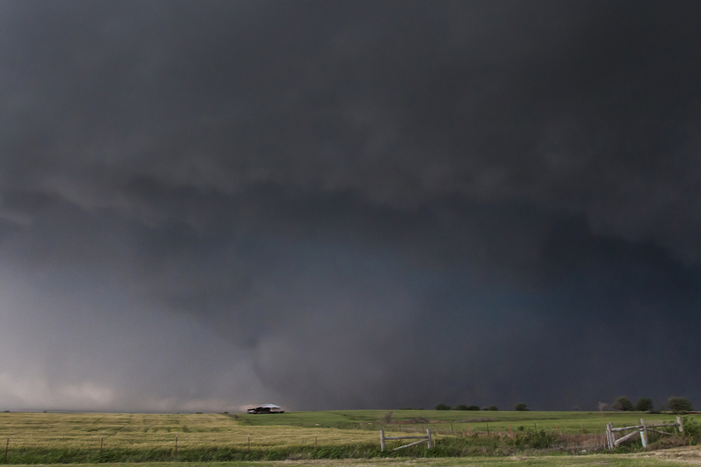 Widest tornado in US History. May 31, 2013 in El Reno, Oklahoma
