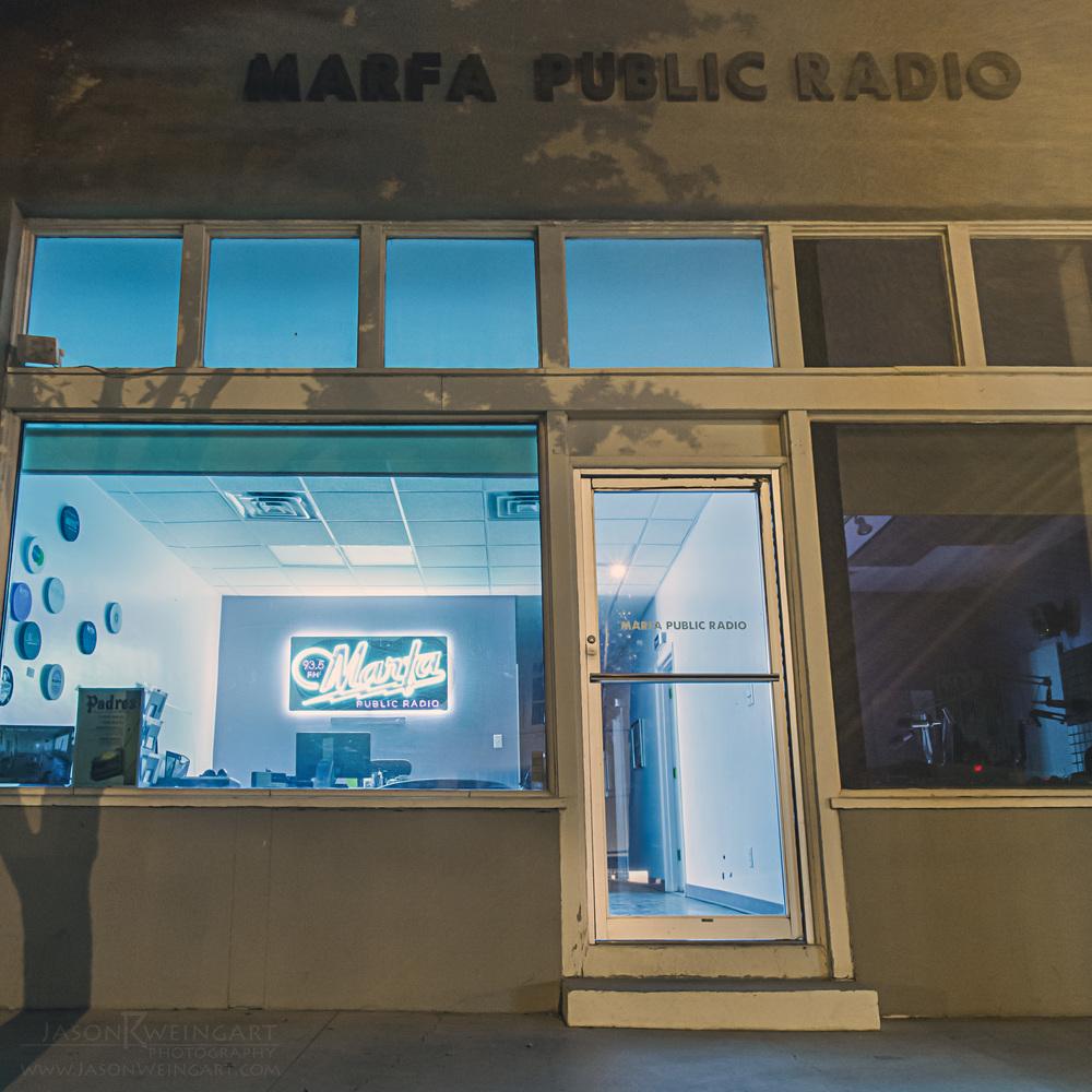 Marfa Public Radio by Jason Weingart