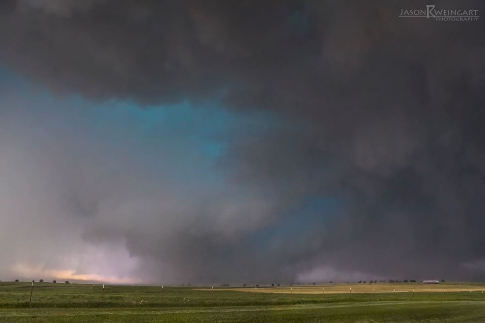 The widest tornado in US history. 2.6 miles wide. El Reno, Oklahoma. May 31, 2013 .