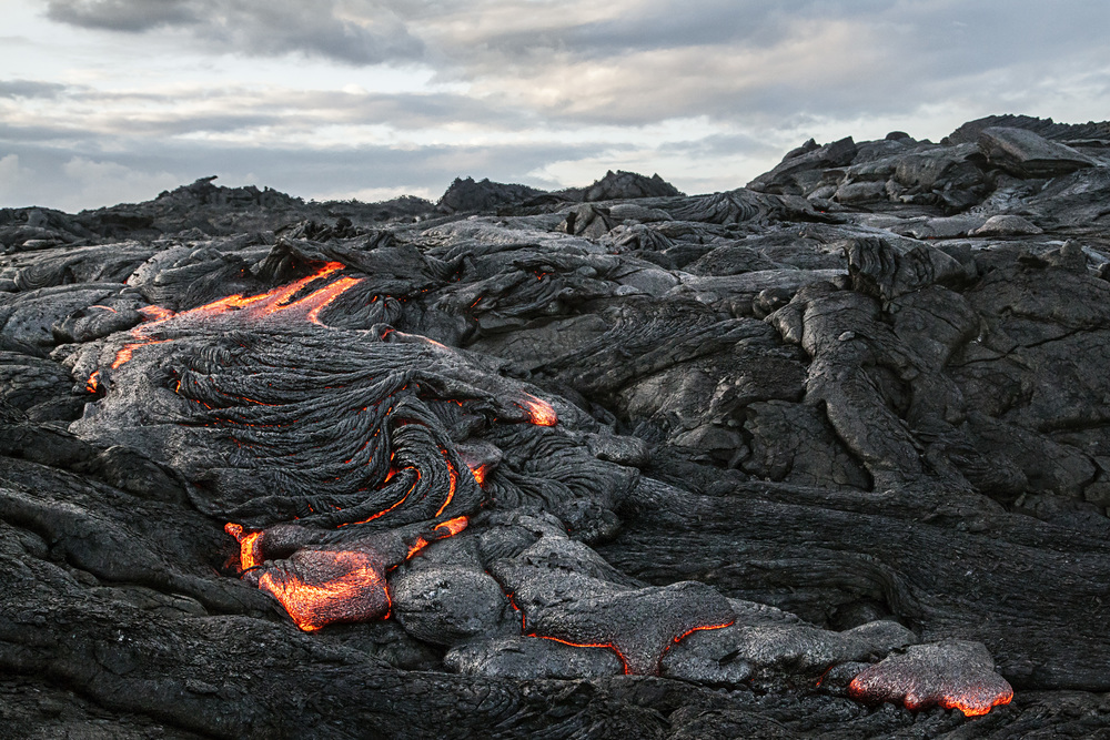 volcano lava flow earth stock video hawaii iceland