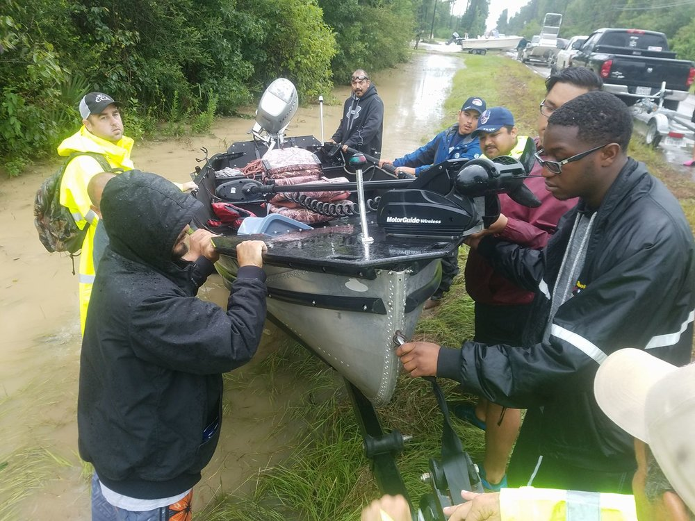 Houston Flood Cajun Navy