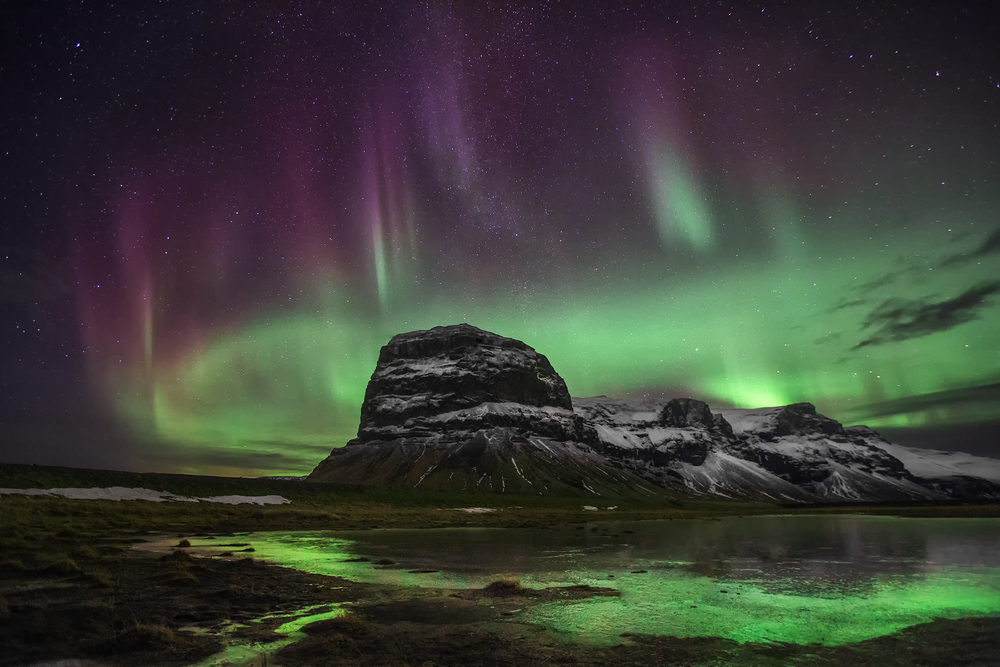 iceland aurora northern lights photography adventure