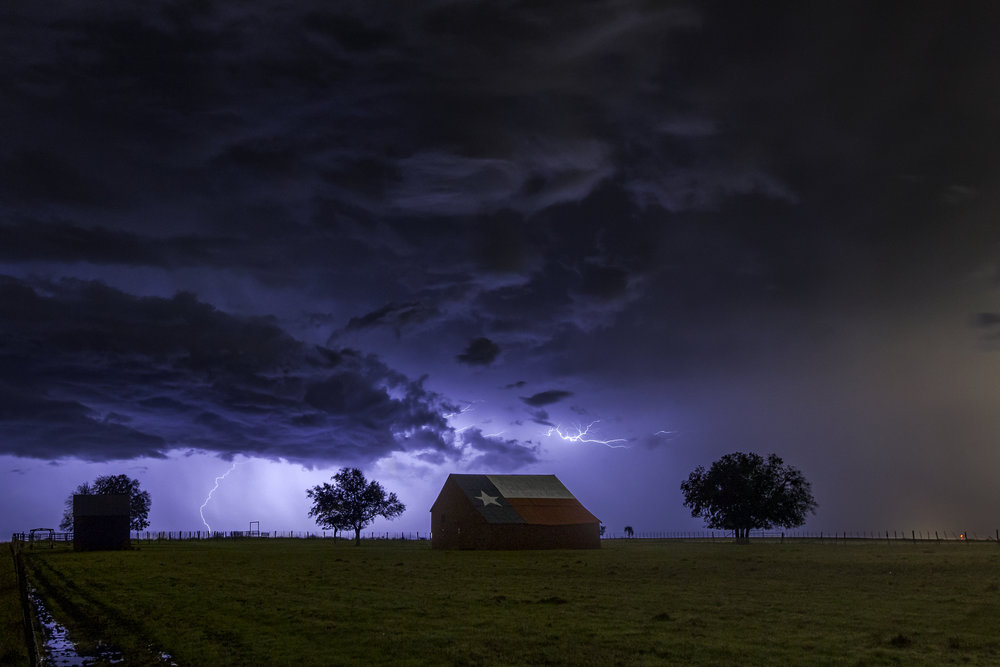 Texas barn storm