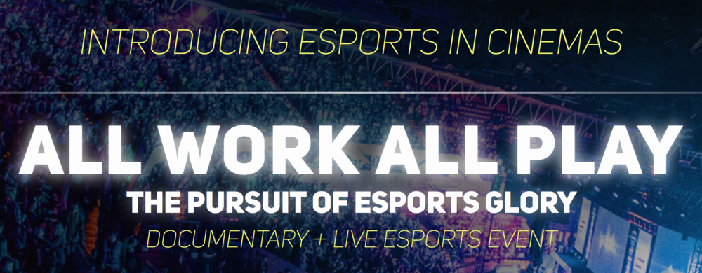 """CFM's award winning director Patrick Creadonsits down with The Shadow Leagueto talk about his upcoming eSports documentary film """"All Work All Play"""""""