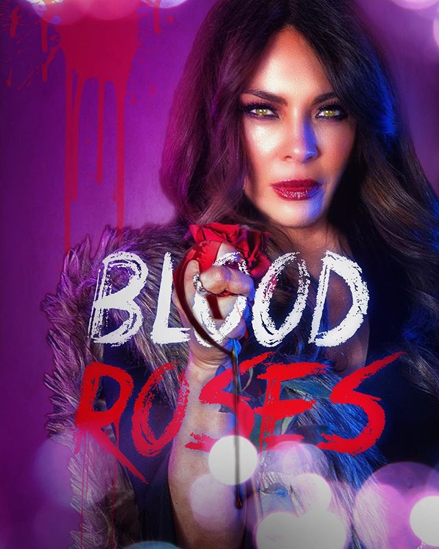 """""""Blood roses"""" coming soon 🎞 🎥 🧛♀️ 👻 @bloodrosesseries @lillymelgarofficial"""