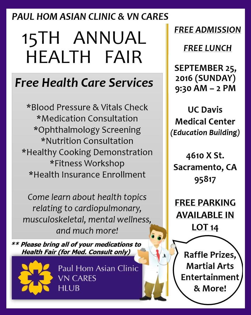 Events master janny wu health fair free clinic 1betcityfo Choice Image