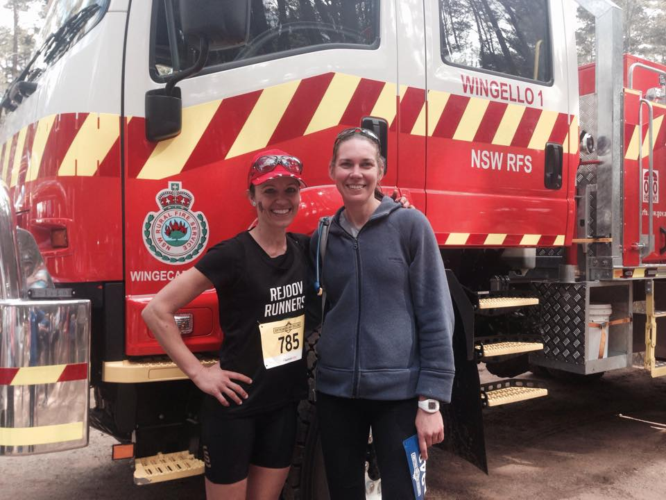 Greta & Lisa enjoying the Southern Highlands Challenge 2015