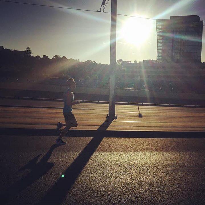 Simon Gilbertson - Run Melbourne half marathon