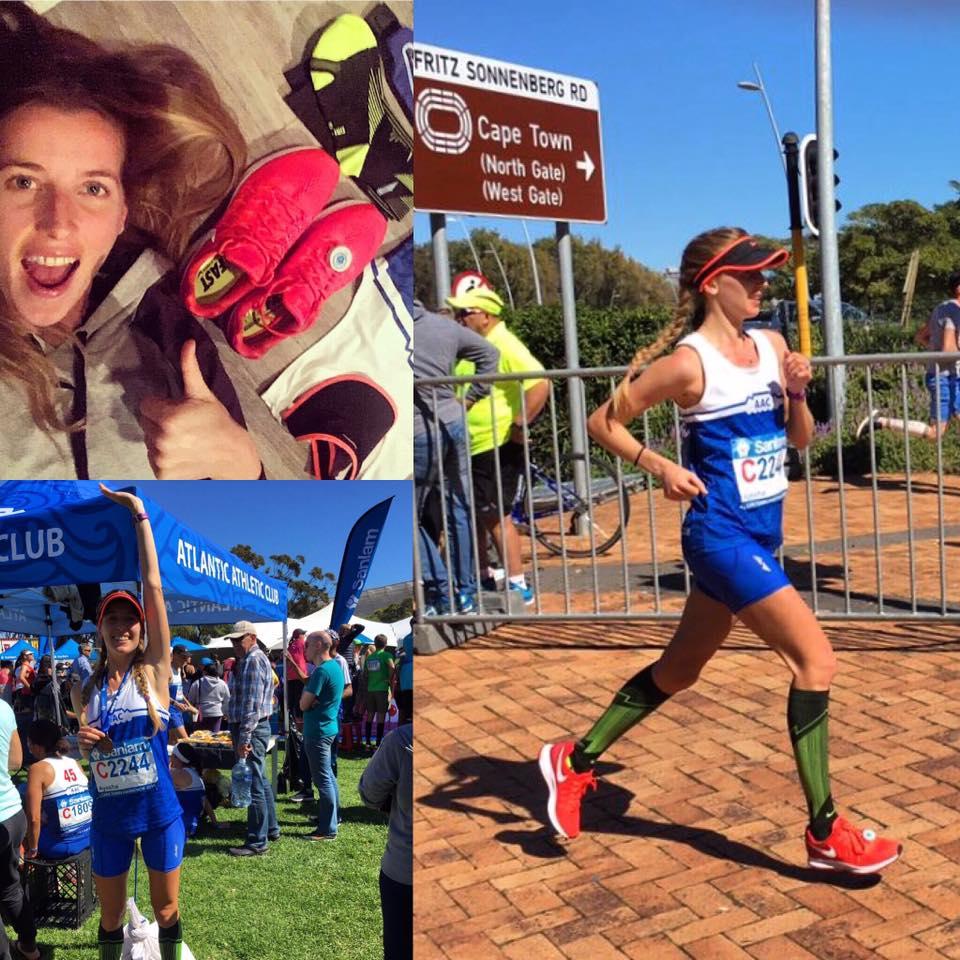 Ayesha - debut marathon - Capetown