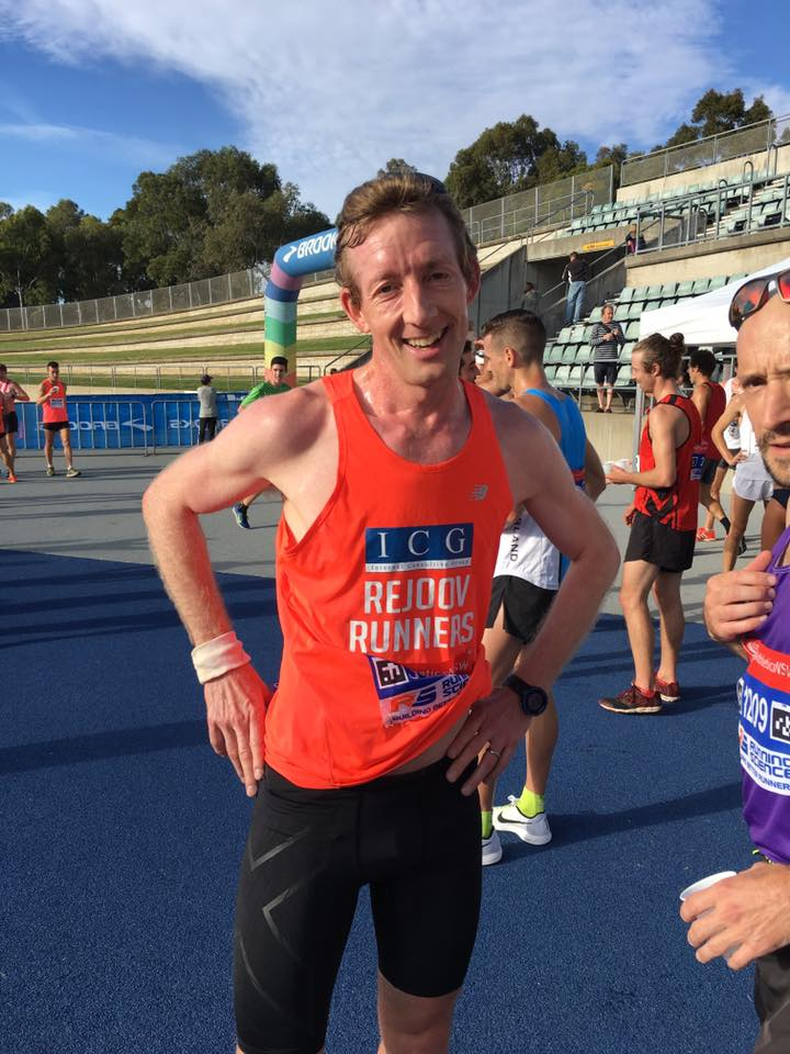 Andy Heyden covers all distances from 5k to 100k - what a legend and superb running today!