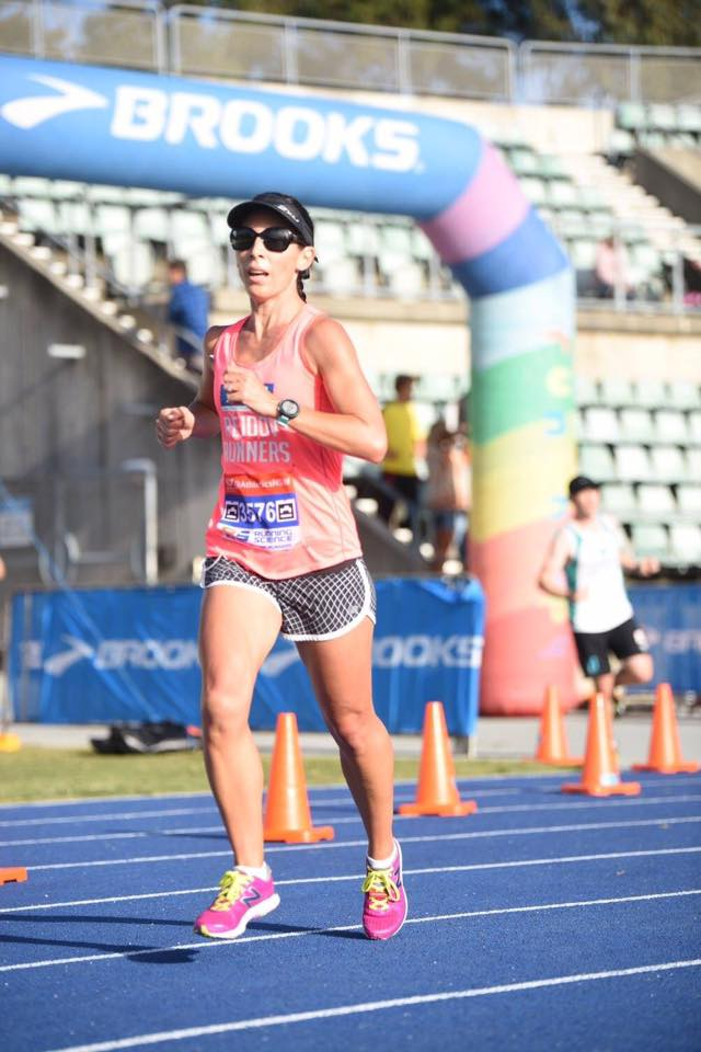 Hayley Kain pb and bronze medal for 35-39 age group onya HK!!