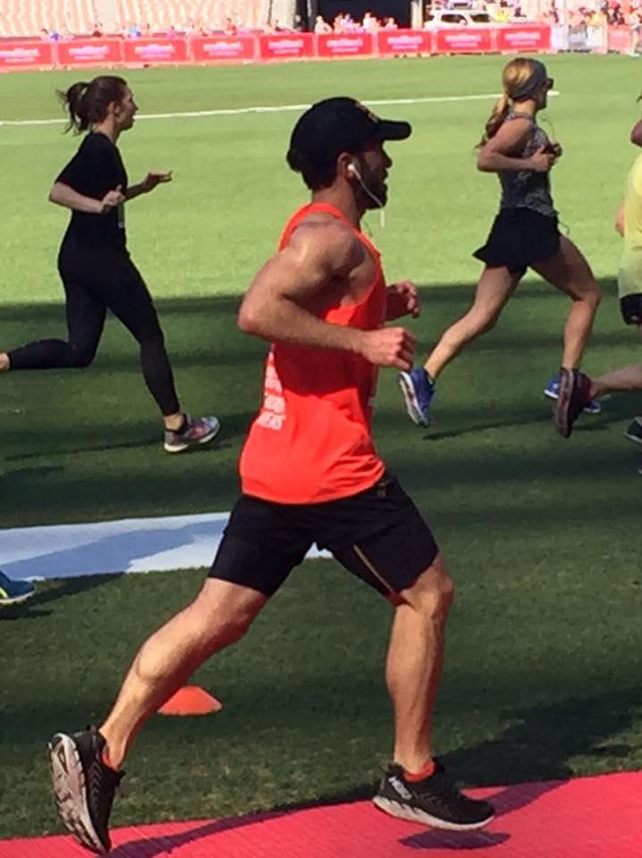 Darren MacGregor PB 3.05 marathon