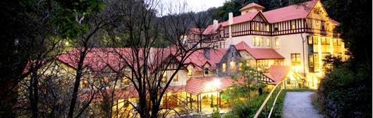 Jenolan Caves - where the camp is based and the 6 foot finish line