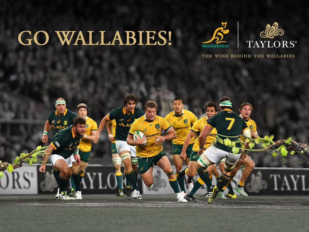 Proud supporters of the Wallabies