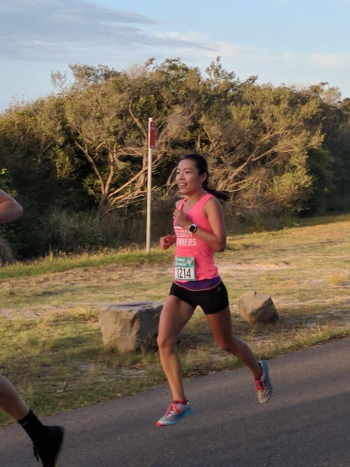 Cathy liu achieved a 5k pb 18.15 & Sydney 10k PB 37.39 congrats
