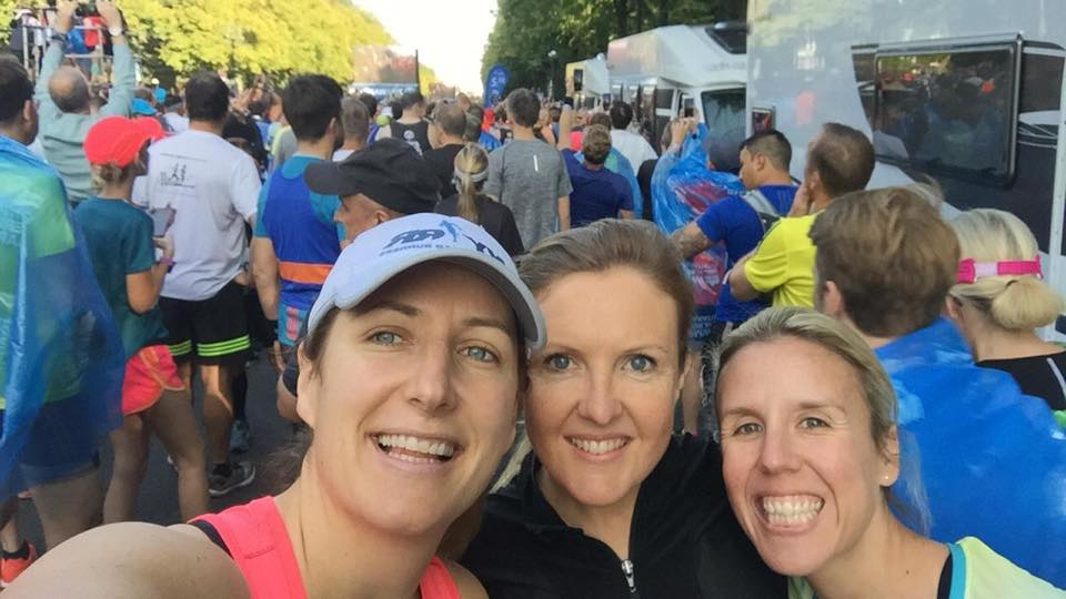 Orla, Emma and Louisa - congrats ladies!! Berlin Marathon!