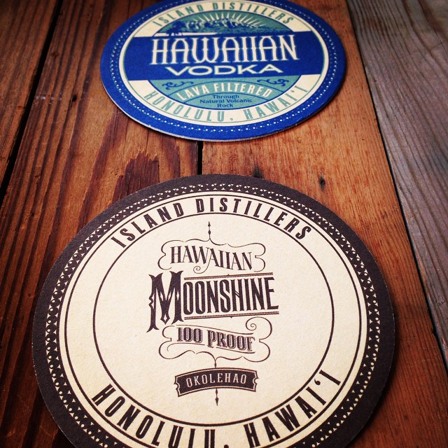 After a couple months, our coasters have finally arrived from the mainland - and they say we're on island time.  #hawaii #islandtime #islanddistillers #honolulu