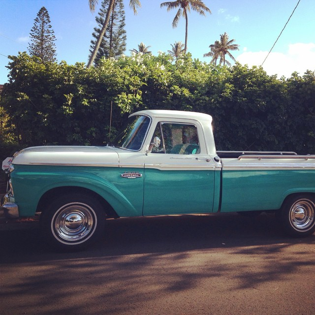 ...because delivering handcrafted spirits on a motorcycle just wasn't cutting it. #newtruck #islanddistillers #hawaii