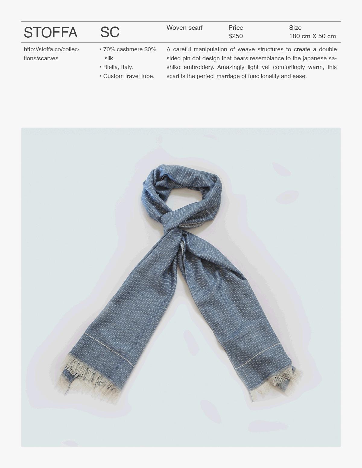 la-stoffa :     Stòffa Catalog - Scarves