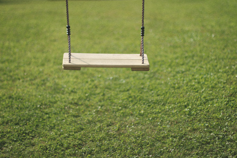 I miss those days…    I miss those days when my only worry in life was how high I was going to be able to go on the swing the next day. The only thing I eagerly waited for was that time alone on the swing at dusk, cool breeze blowing, standing up on that swing one last time and trying my best to maneuver it as high as possible. It wasn't carefreeness or carelessness, just a comforting feeling that after that I got to go home to my mom and dad. I am thankful for that time, that childhood. Thank you mom, thank you dad, for I shall cherish that time forever and I have only you to thank for it.