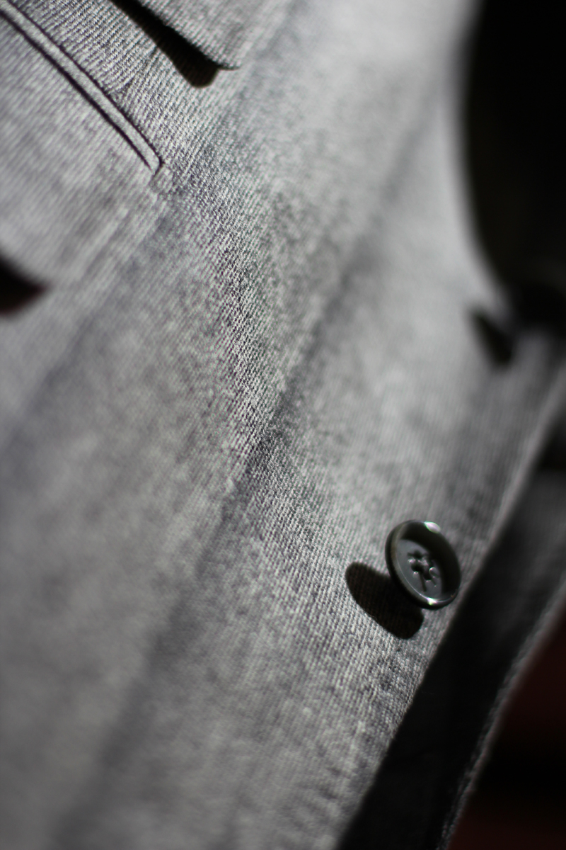 The Shadow Fabric Series from ISAIA Fall Winter 2012. My favorite fabric from the collection.
