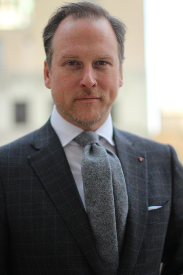 Brian J. Cook of ISAIA