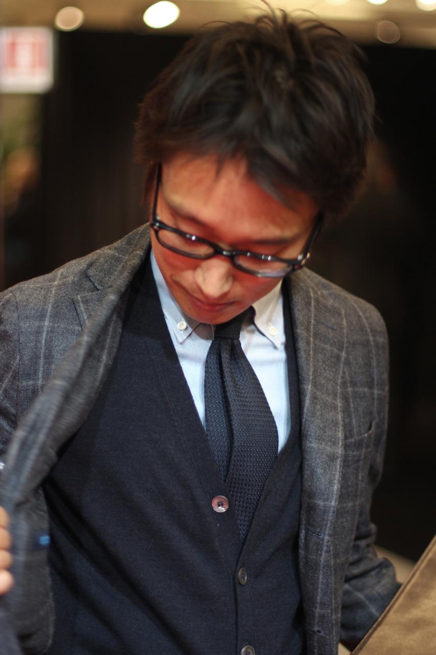 Keita Fujieda of ISAIA