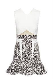 Triangularity mini dress