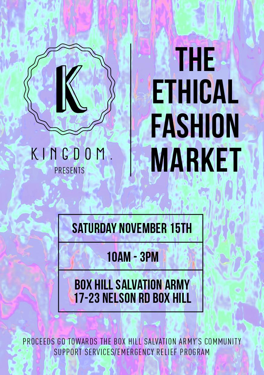 KING0057 Ethical Fashion Market Poster-v01