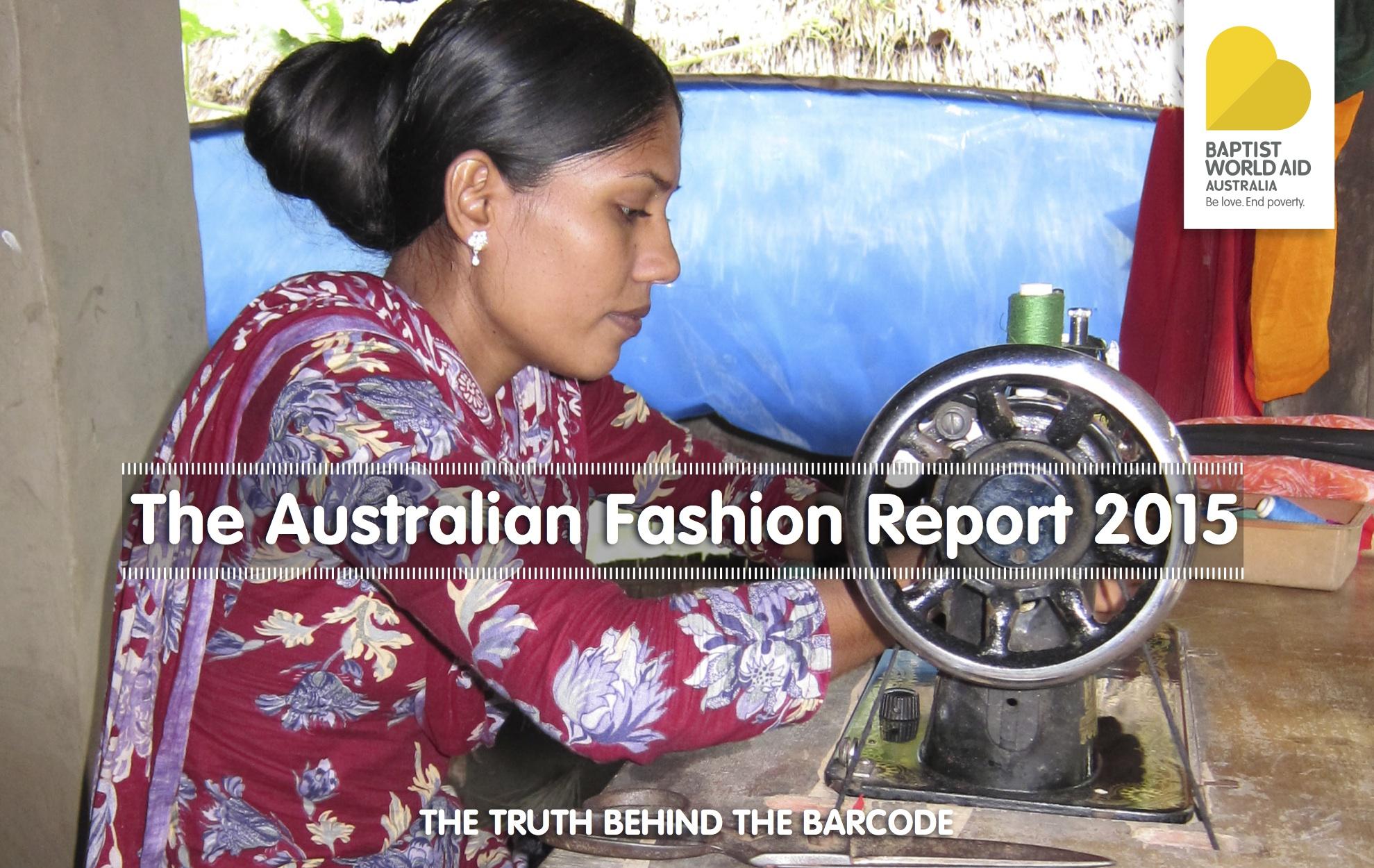 Australian Fashion Report 2015 cover