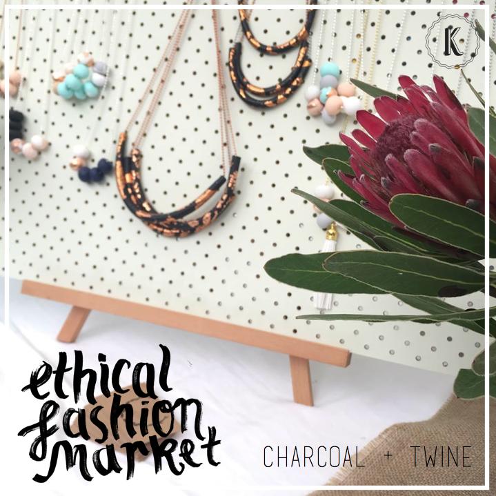 Charcoal + Twine
