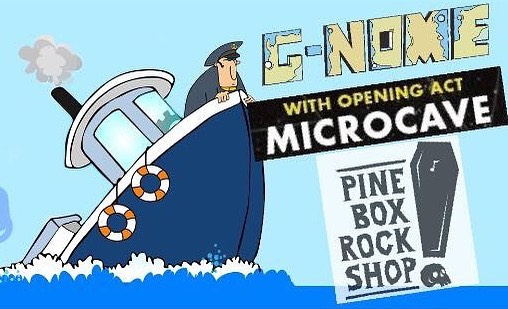 NYC, the boat cruise might be cancelled but the show must go on!! We've rebooked at a new venue and we're ready to rage with you all!! We'll be hitting up the @PineBoxRockShop in Brooklyn joined by our friends Microcave. Music will be starting at 4 PM sharp, see you all there!! - UPCOMING DATES: • 08.12 - Pine Box Rock Shop, Brooklyn NY • 08.14 - Hodi's Half Note, Fort Collins CO • 08.15 - Cervantes Ballroom, Denver CO • 08.16 - Lazy Dog, Boulder CO - #Livetronica #OrganicLivetronica #Jamtronica #GnomeProject