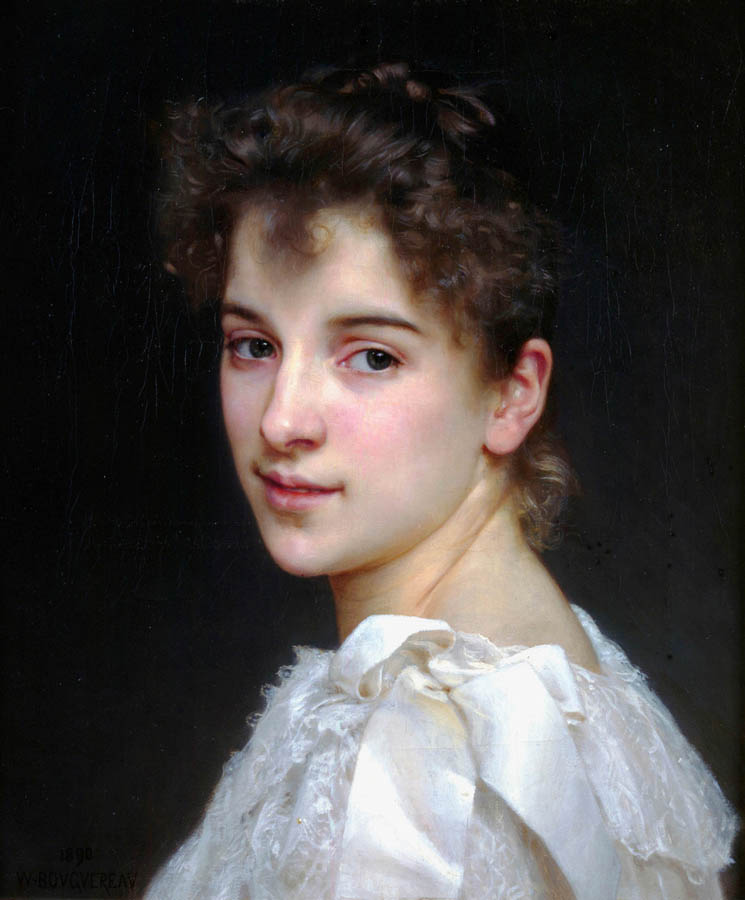 Option 2, Bouguereau, 'Gabrielle Cot'
