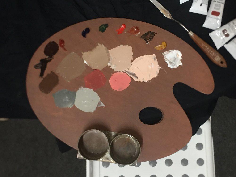 Cesar's palette