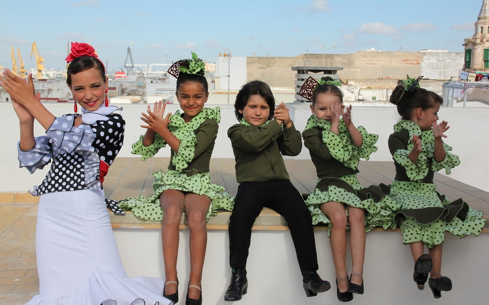 Flamenco dancers, Cadiz 2013
