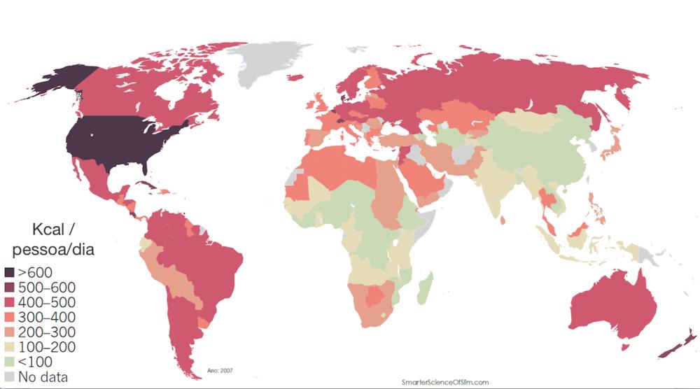 O Brasil é um grande produtor e consumidor de açúcar