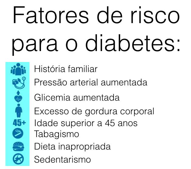 Saiba mais sobre o diabetes  clicando aqui .