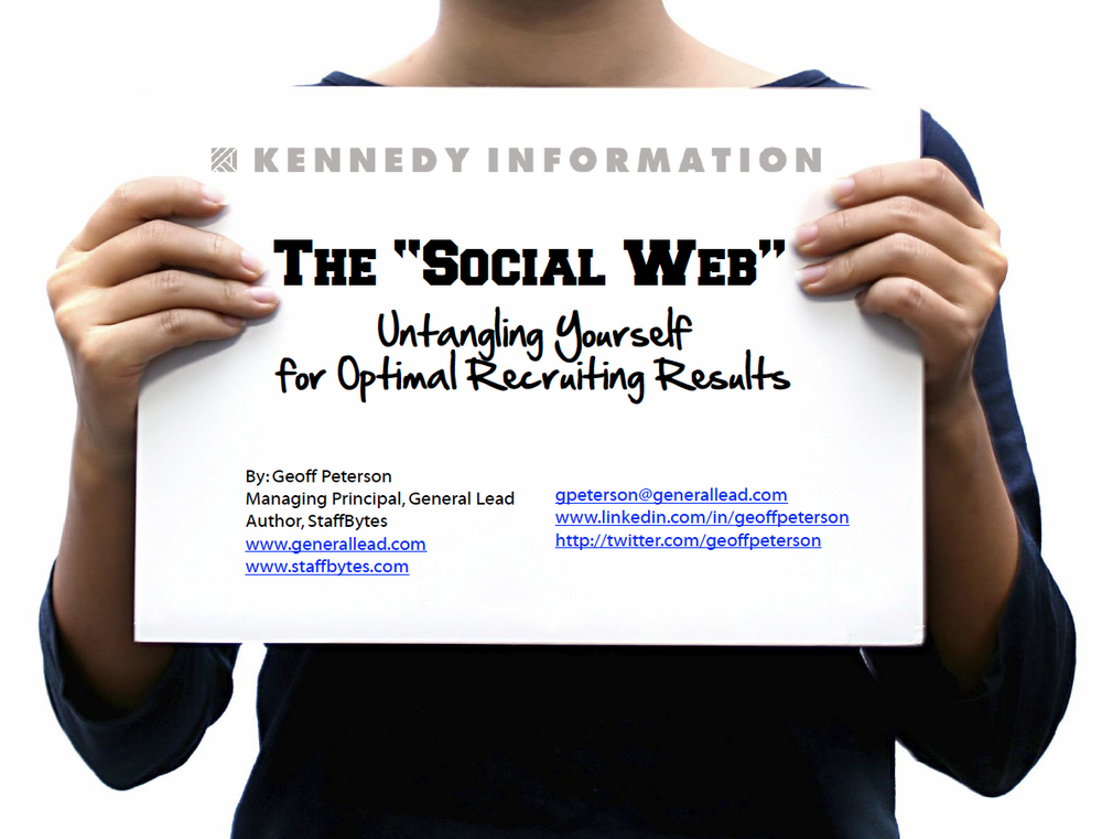 The Social Web: Getting Optimal Results View on Slideshare