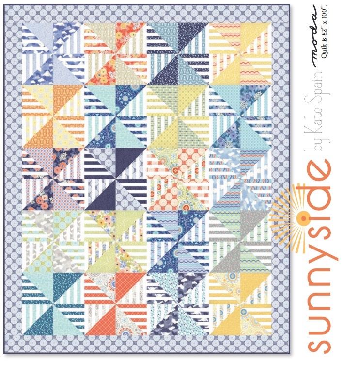 Sunnyside Quilt Pattern by Kate Spain