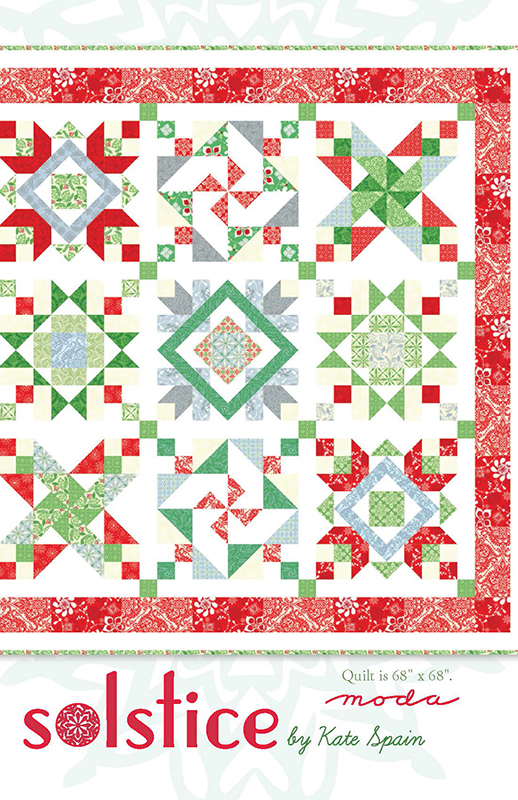 Solstice Quilt Pattern by Kate Spain