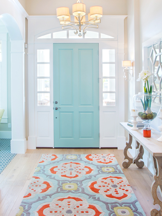 Our field-to-fiber 100% New Zealand wool Talavera wool rug has been seen on Houzz and pinned to over 170,000 ideabooks. Available in our shop. Questions? We're here to help!