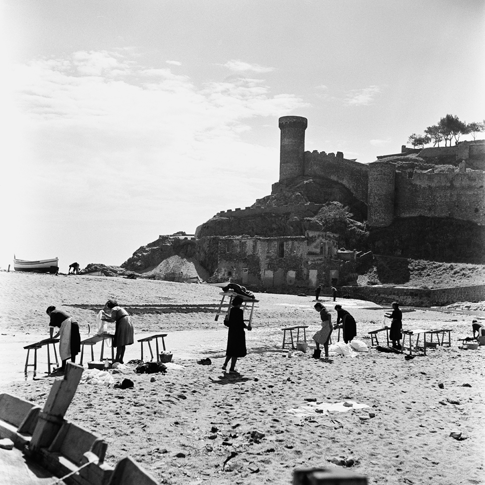 Spanien,Tossa del Mar  1953