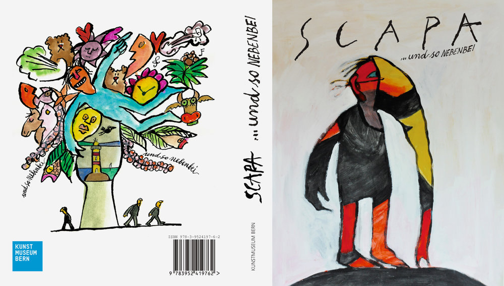 Die Täter haben in enger Zusammenarbeit mit dem Künstler und seiner Tochter Tessa den 284-seitigen Katalog zur Ausstellung gestaltet. Dieser kann ab dem 17. November 2016 beim Parlevent Verlag Bern bestellt oder im Kunstmuseum Bern erworben werden.