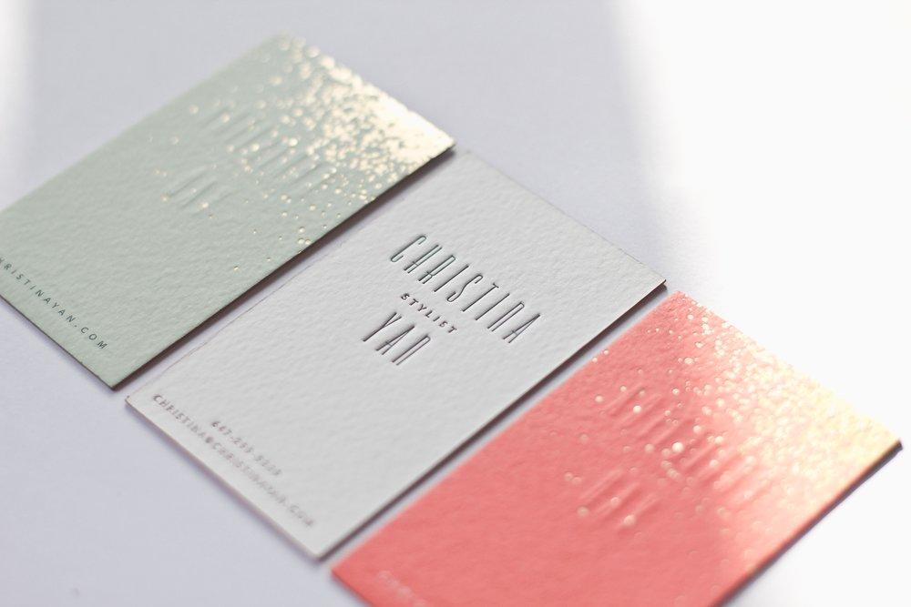 Christina Yan/  branding, print & web design