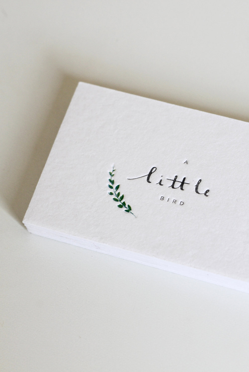 A Little bird, branding & print design