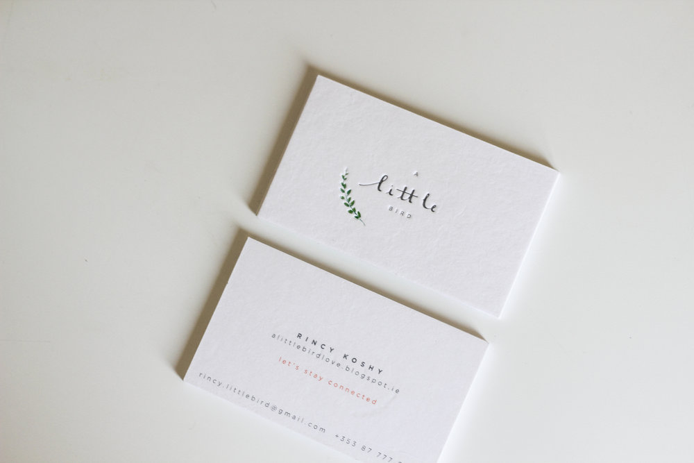 A Little Bird Branding by Belinda Love Lee