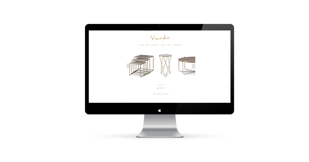 Vardo Home Branding by Belinda Love Lee