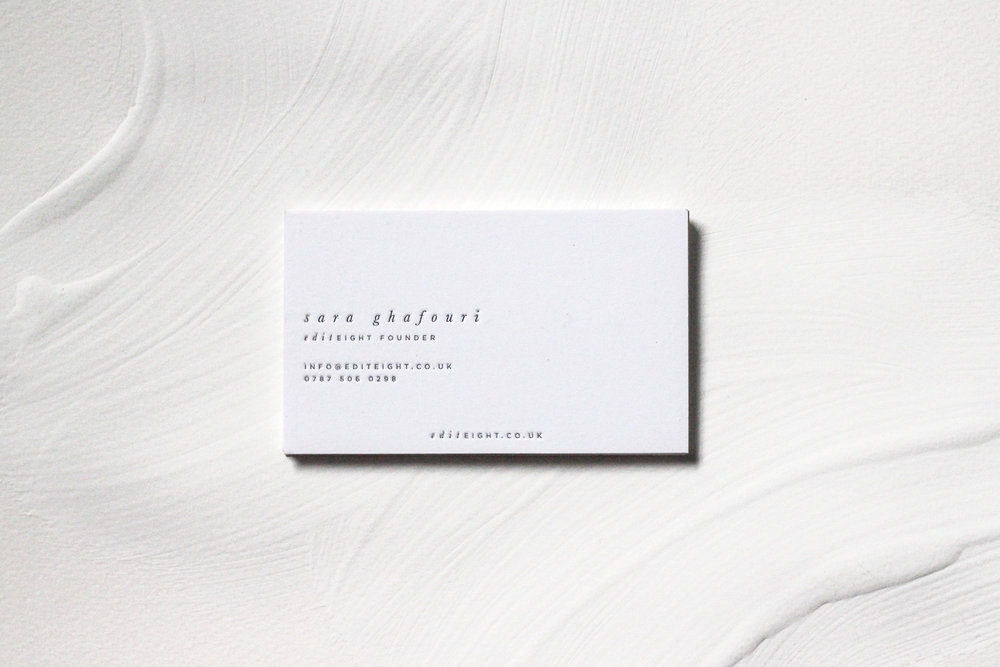 edit 8,  branding & print design