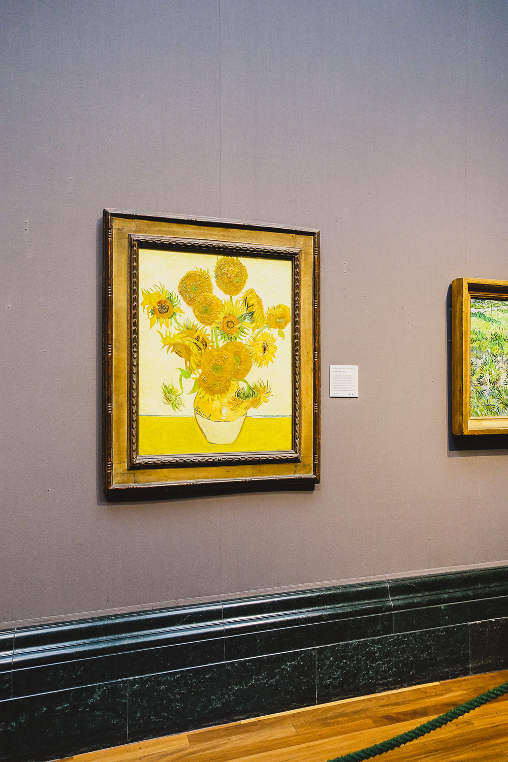 the national gallery london sunflowers van gogh iamsuanlee blog